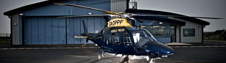 Dyfed Powys Police Heli pad