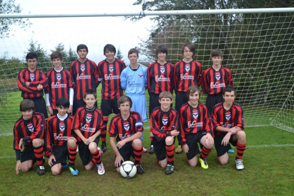 Pontardulais Town Junior Football team